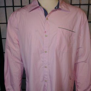 Robert Graham XXL Pink Men's Shirt